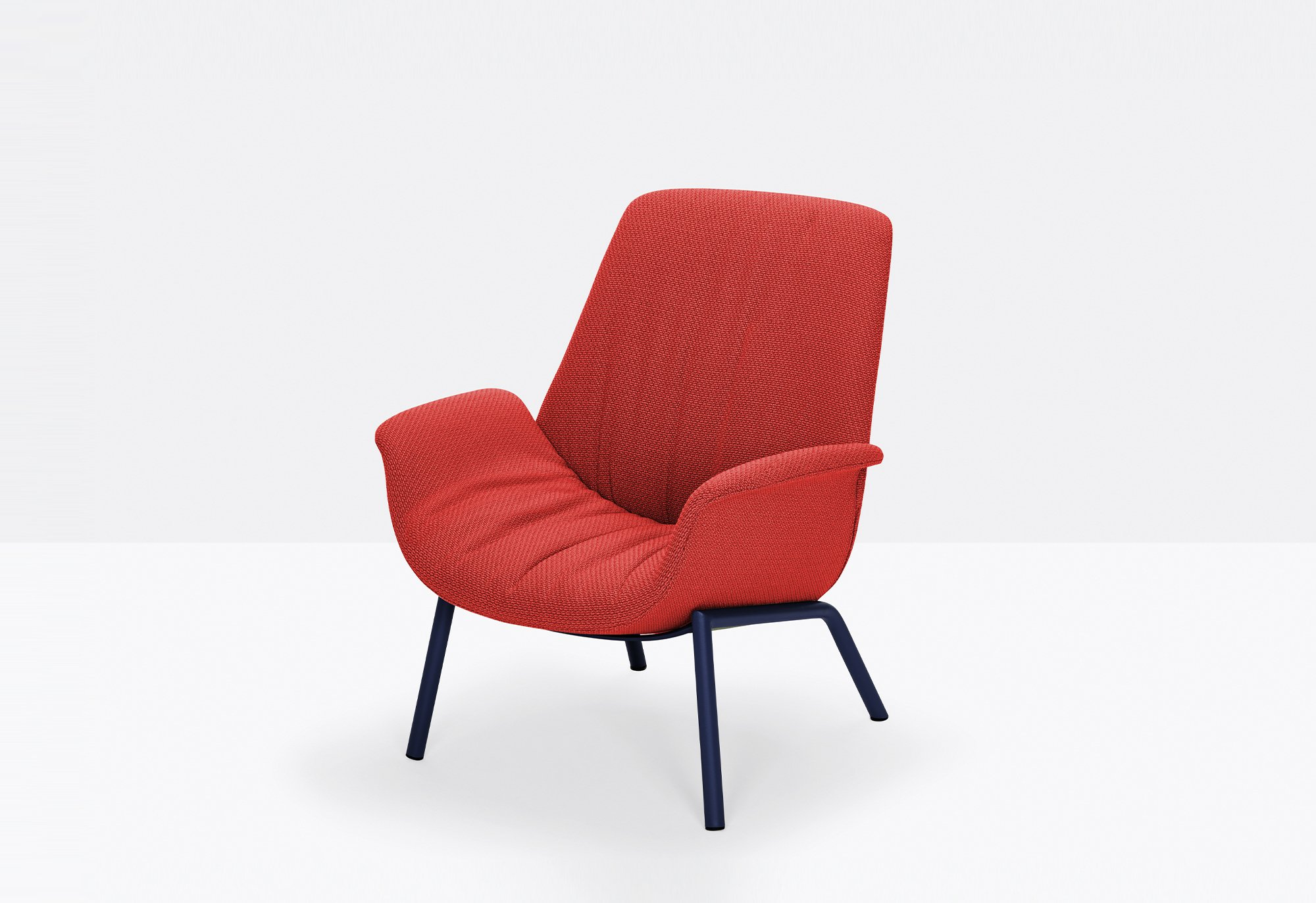 ILA Armchair lounge from Pedrali, designed by Patrick Jouin