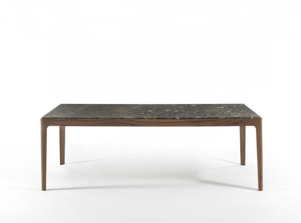 Ziggy Dining Table from Porada, designed by C. Ballabio