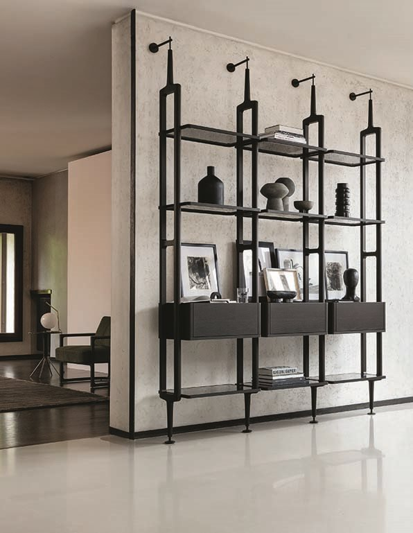 Aria Modular Bookcase from Porada, designed by D. Dolcini