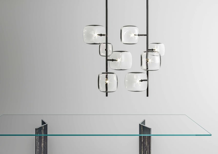 Hyperion Lamp lighting from Tonelli, designed by Massimo Castagna