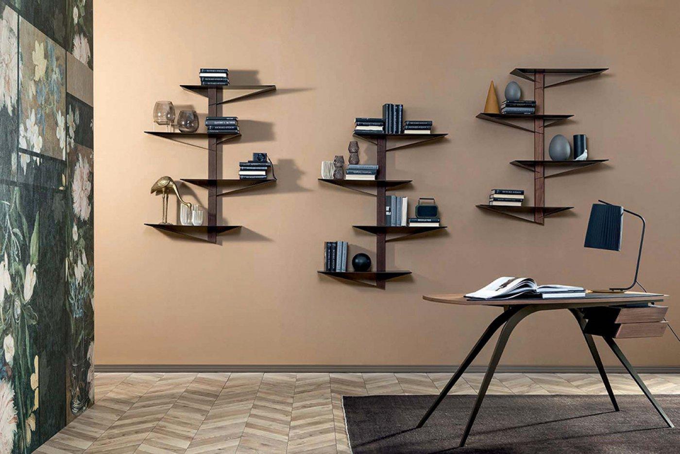 Albatros Bookcase from Tonin Casa, designed by Plurimo Design
