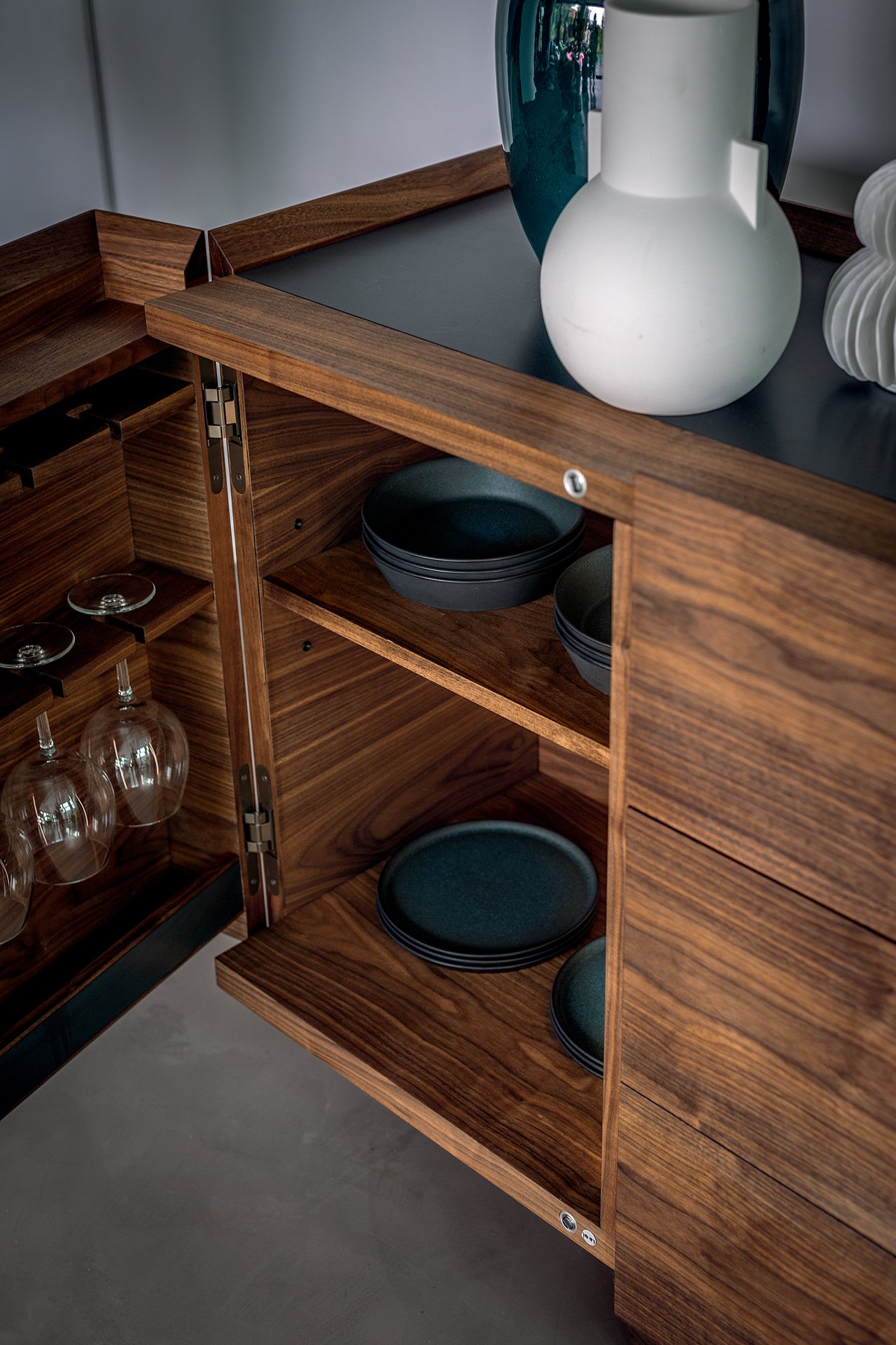 Pandora Sideboard from Riva 1920, designed by Giuliano & Gabriele Cappelletti