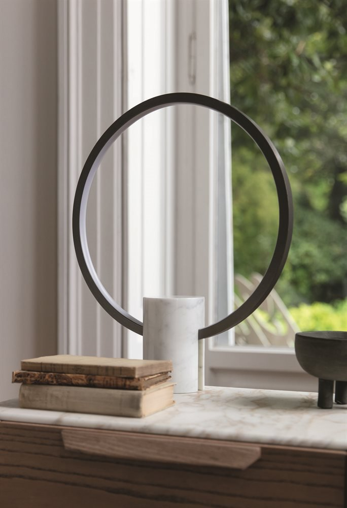 Halo Table Lamp lighting from Porada, designed by D. Dolcini