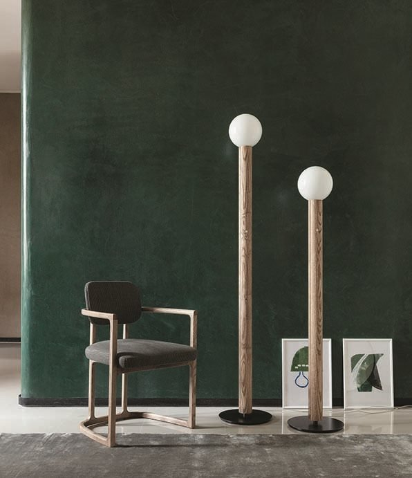 Lum Floor Lamp lighting from Porada, designed by D. Dolcini