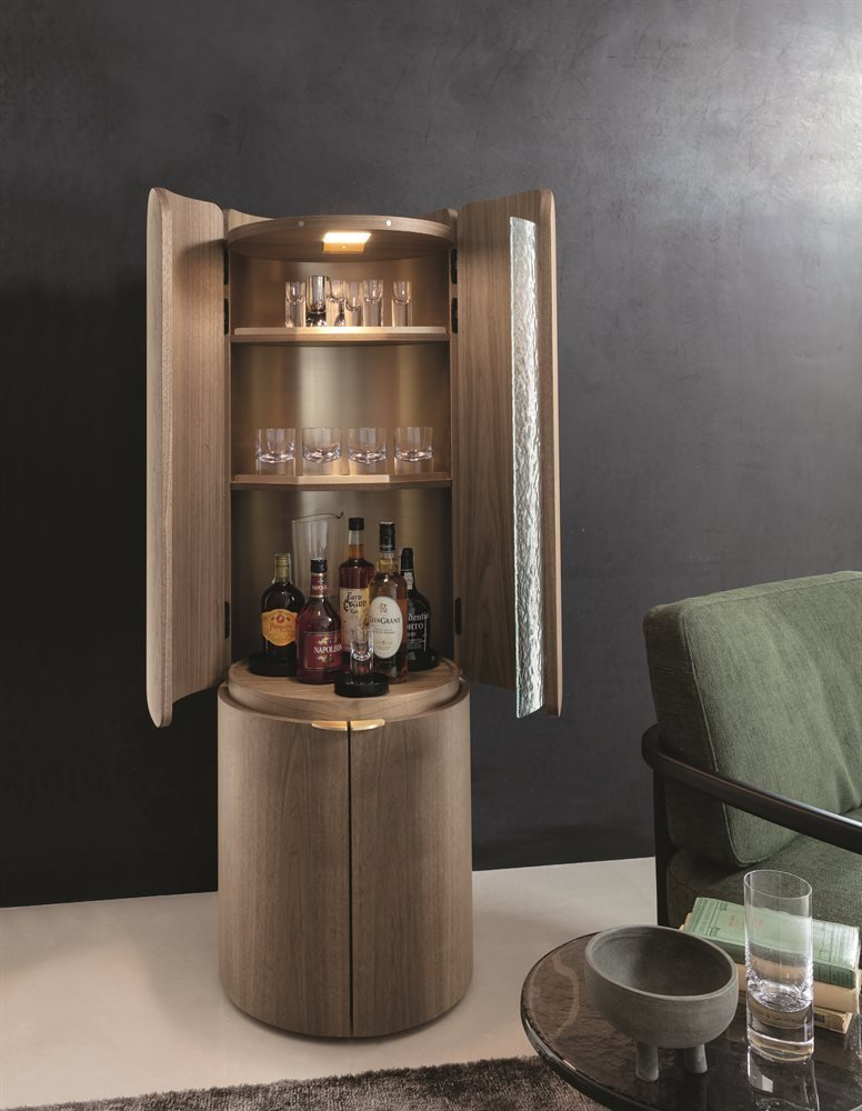 Mary Bar Cabinet from Porada, designed by P. Jouin