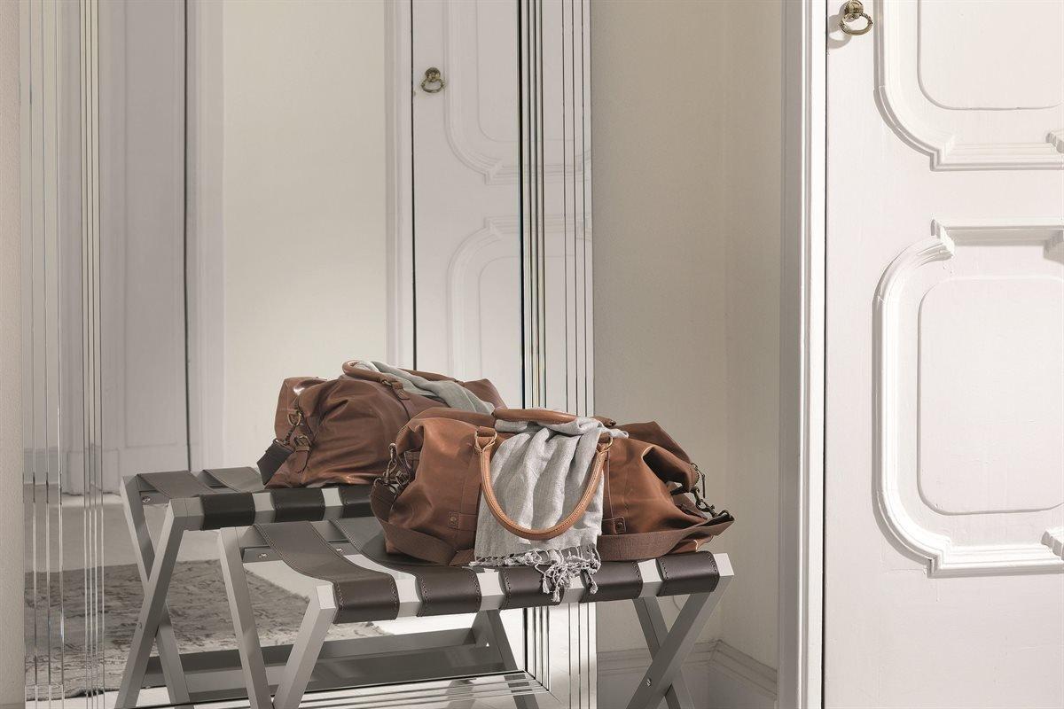 Portavaligie Foldable Luggage Rack accessory from Porada, designed by Essetipi