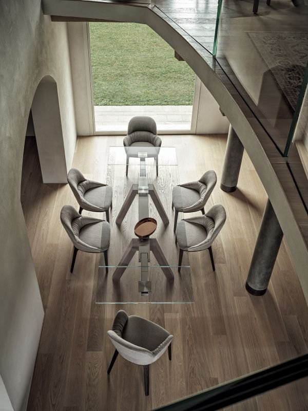 Queen Chair from Bontempi, designed by  R&D Bontempi Casa