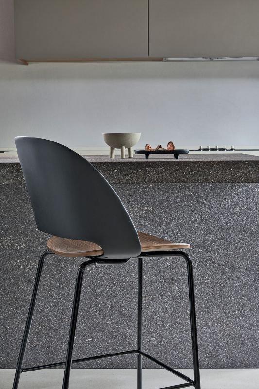Polo Barstool from Bontempi, designed by  R&D Bontempi Casa