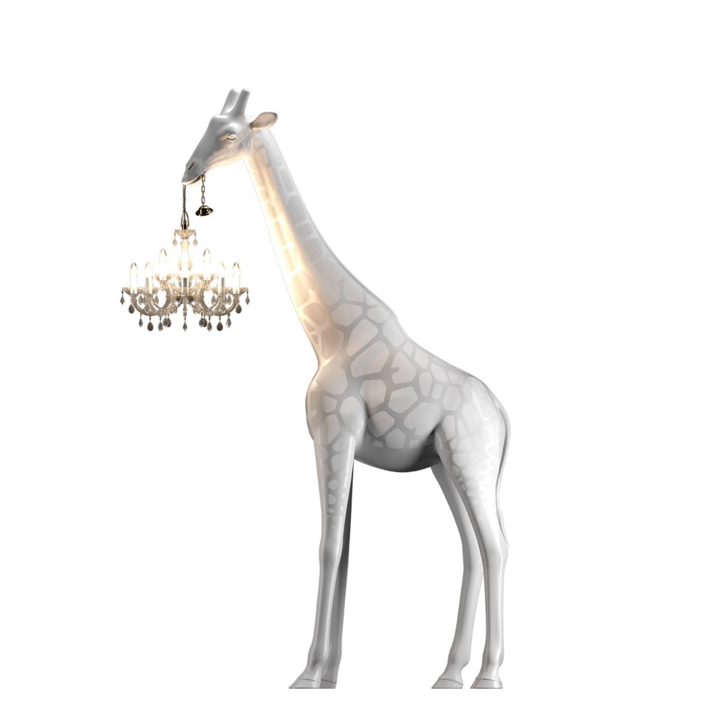 Giraffe In Love M lighting from Qeeboo, designed by Marcantonio