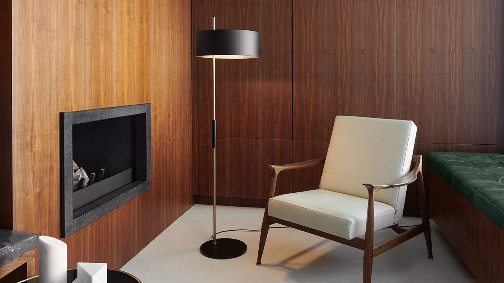 1953 Floor Lamp lighting from Oluce, designed by Ostuni & Forti