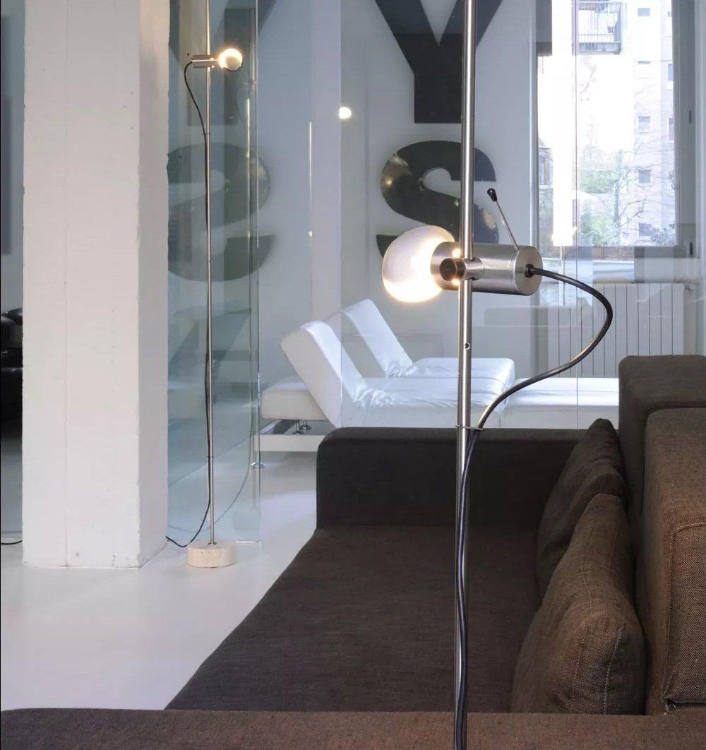 Agnoli Floor Lamp lighting from Oluce, designed by Tito Agnoli