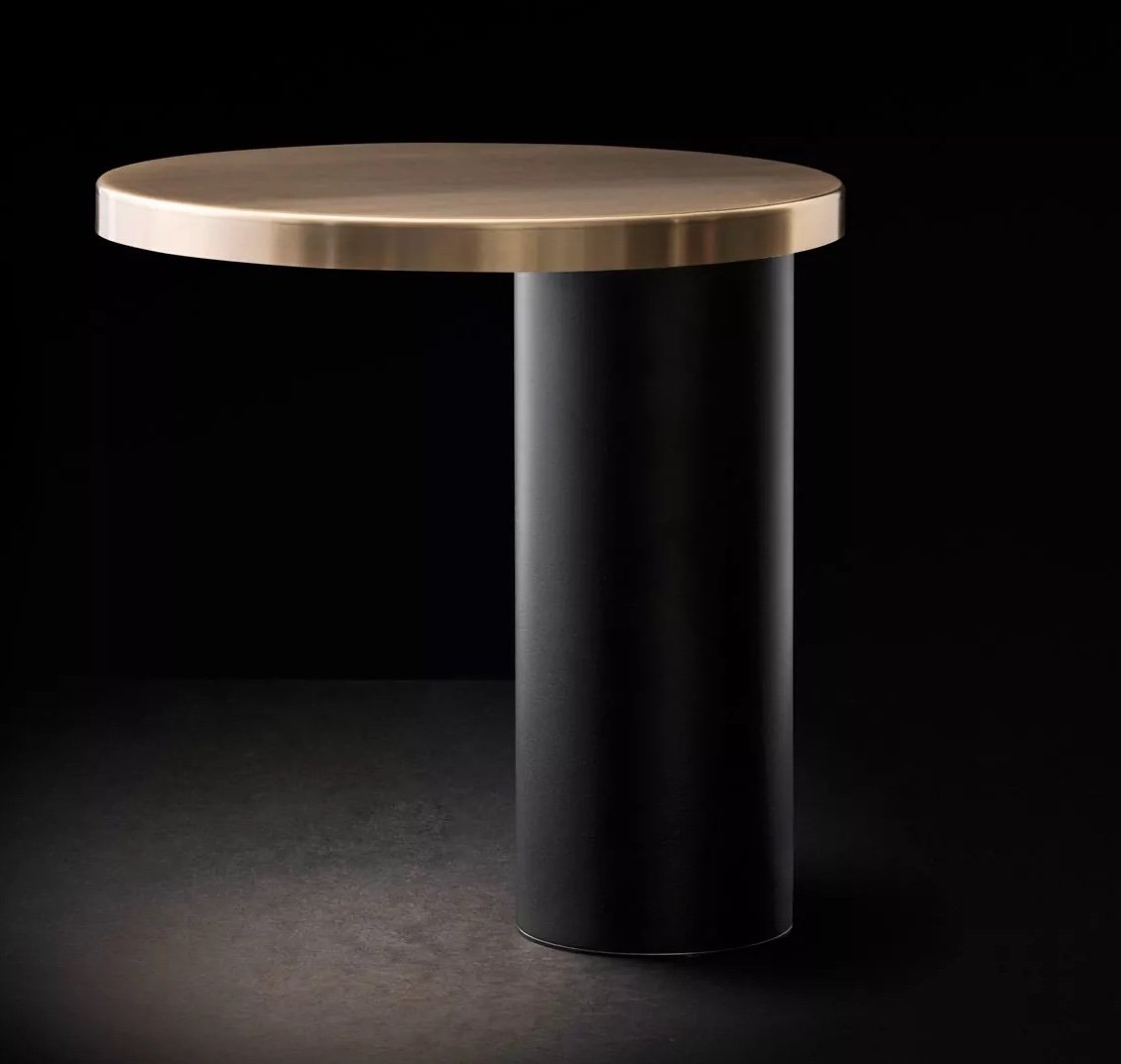 Cylinda Table Lamp lighting from Oluce, designed by Mariana Pellegrino Soto