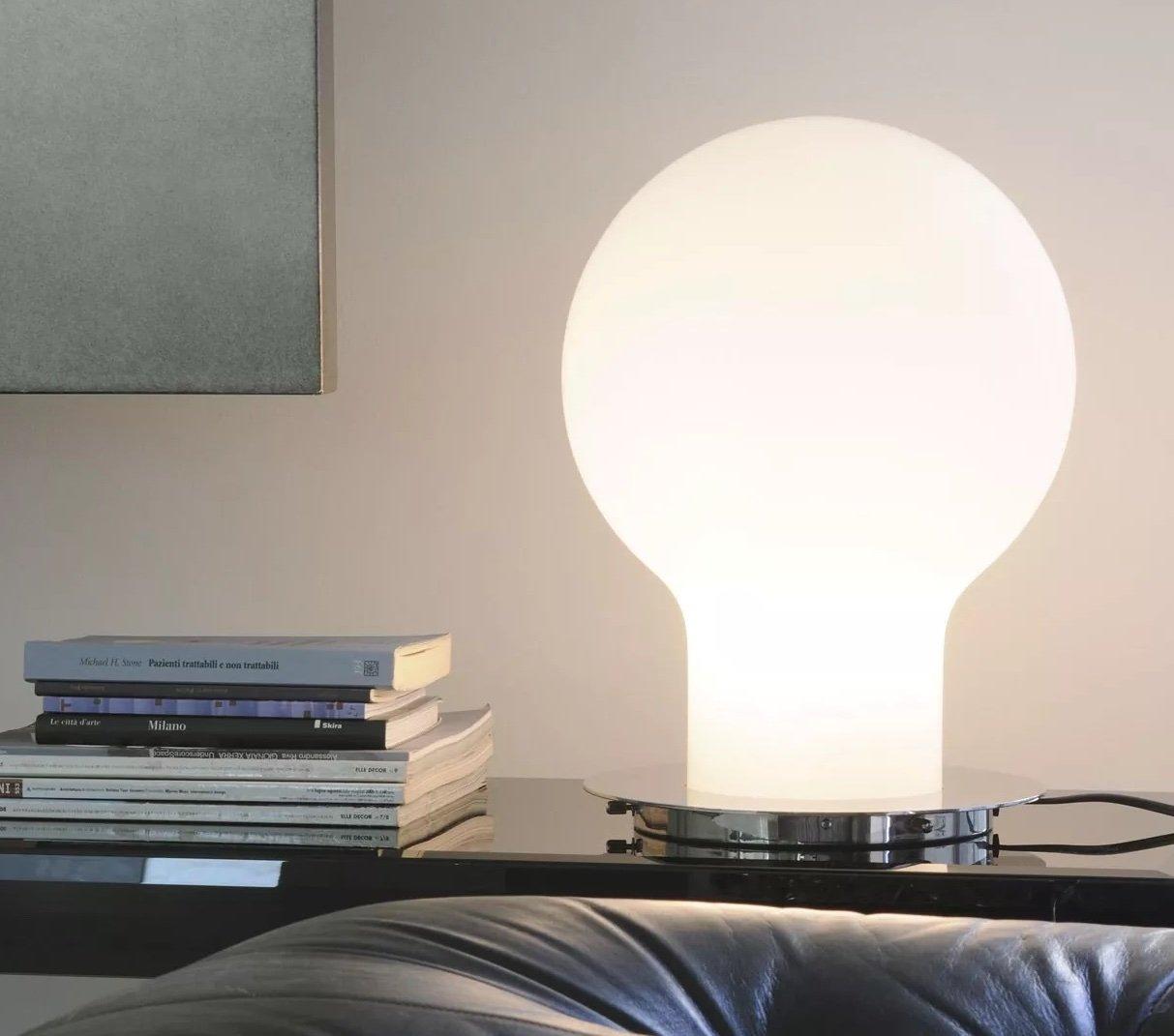 Denq Table Lamp lighting from Oluce, designed by Toshiyuki Kita