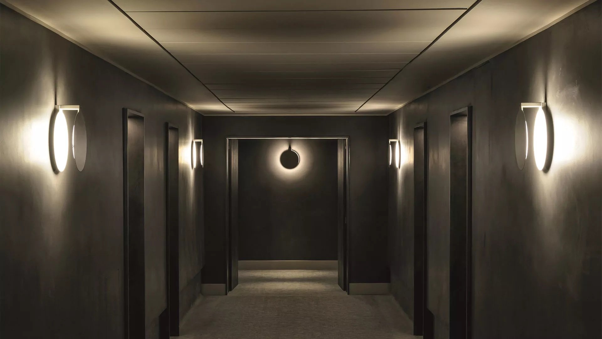 Duca Wall Lamp lighting from Oluce, designed by Nicola Gallizia