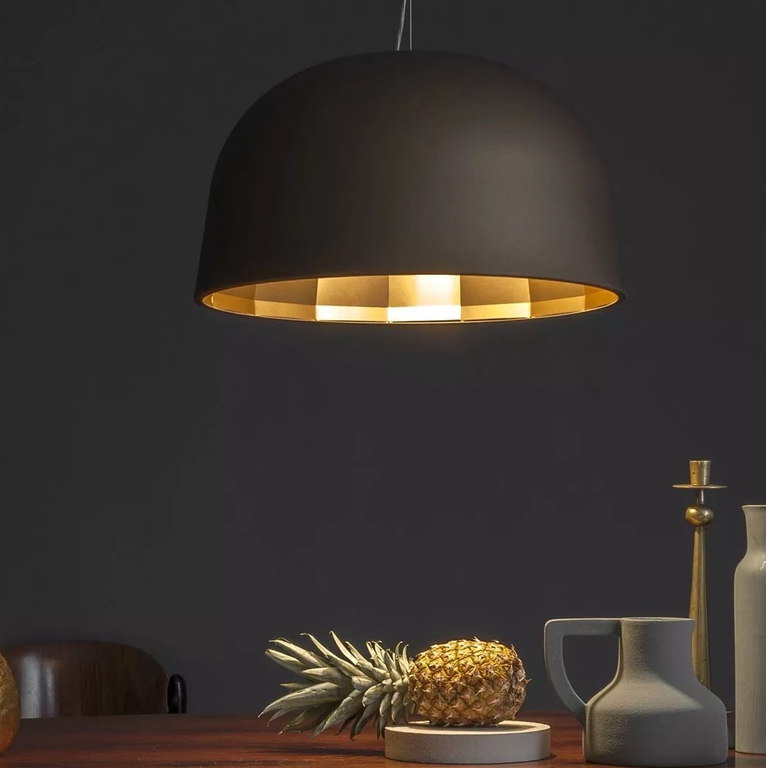 Empty Suspension Lamp lighting from Oluce, designed by Jörg Boner