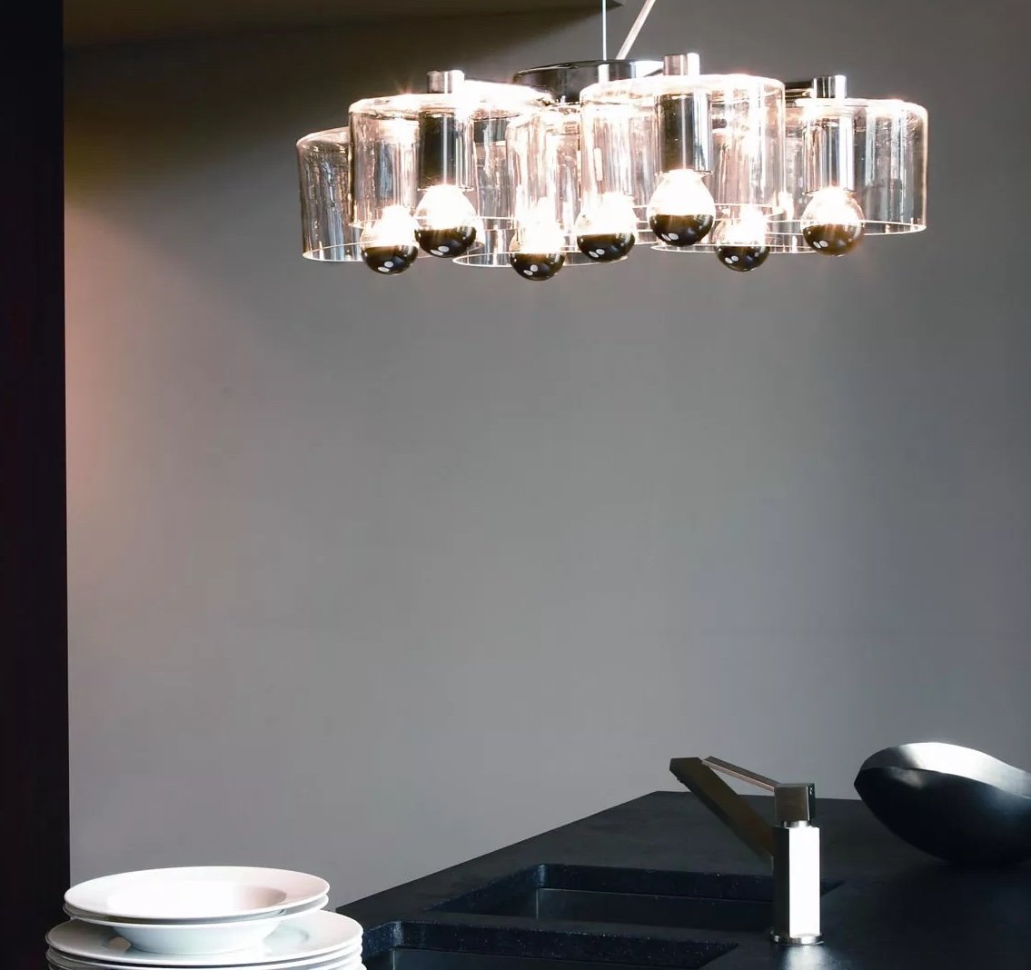Fiore Suspension Lamp lighting from Oluce, designed by Marta Laudani and Marco Romanelli