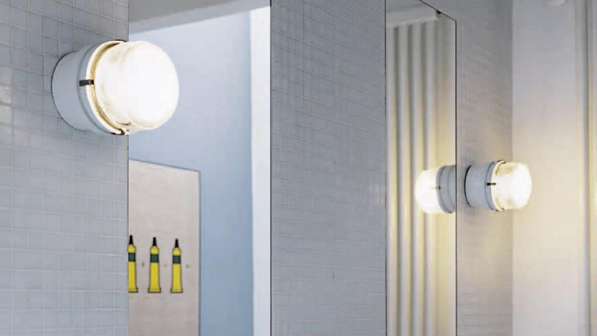 Fresnel Wall Lamp lighting from Oluce, designed by Joe Colombo