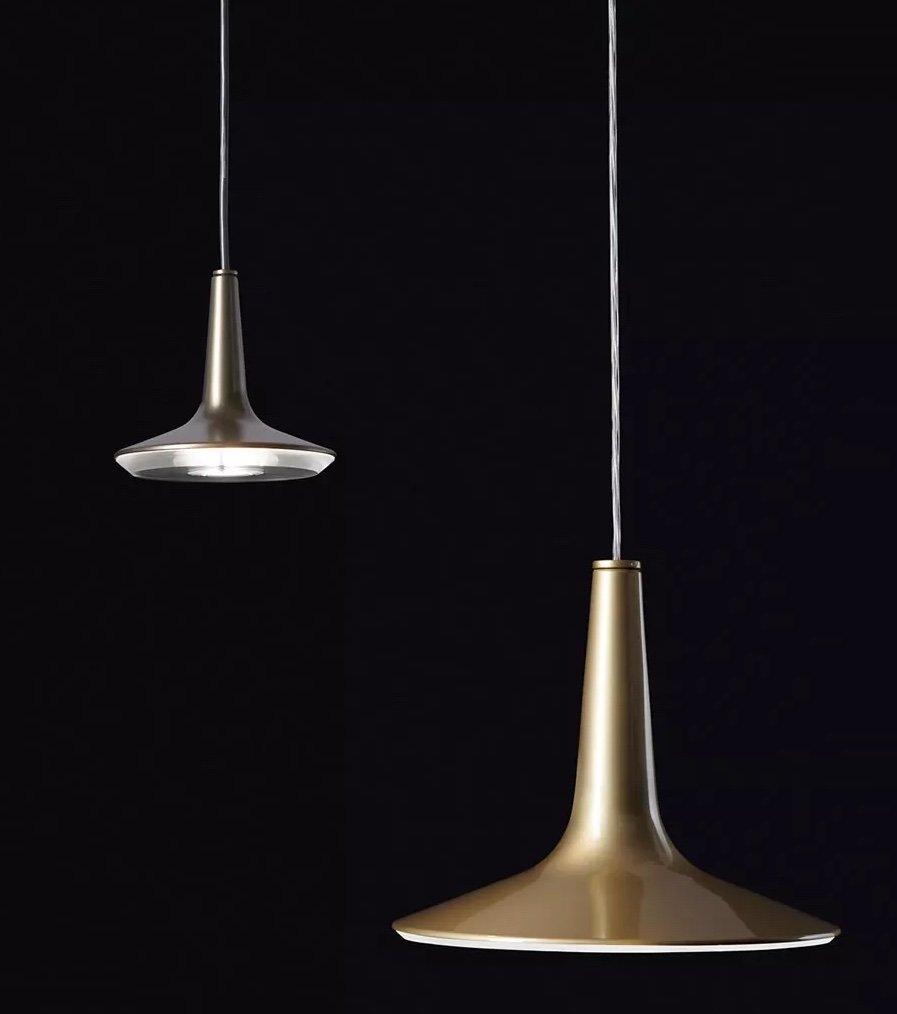 Kin Suspension Lamp lighting from Oluce, designed by Francesco Rota