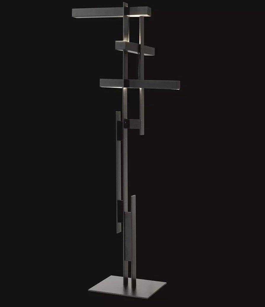 Las Floor Lamp lighting from Oluce, designed by Mist-O