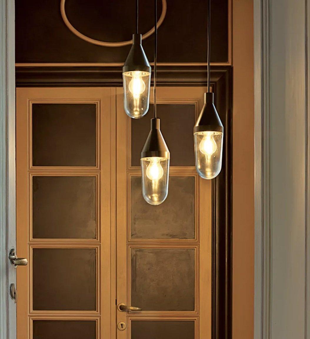 Niwa Suspension Lamp lighting from Oluce, designed by Christophe Pillet