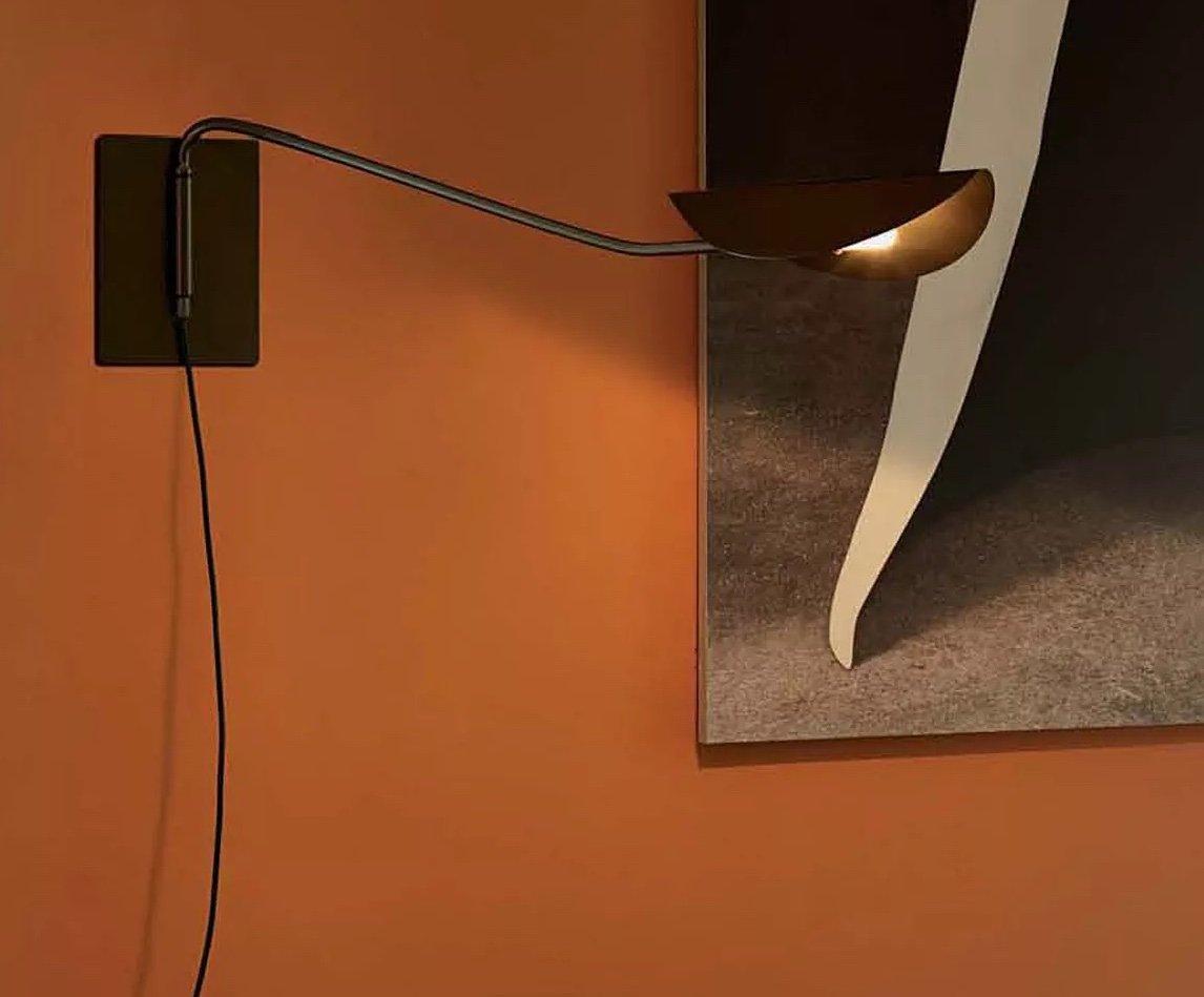 Plume Wall Lamp lighting from Oluce, designed by Christophe Pillet