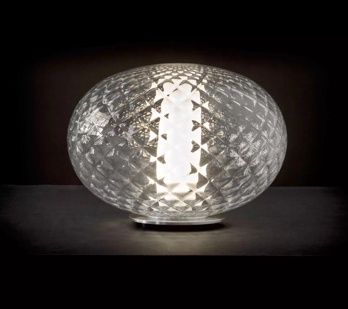 Recuerdo Table Lamp lighting from Oluce, designed by Mariana Pellegrino Soto