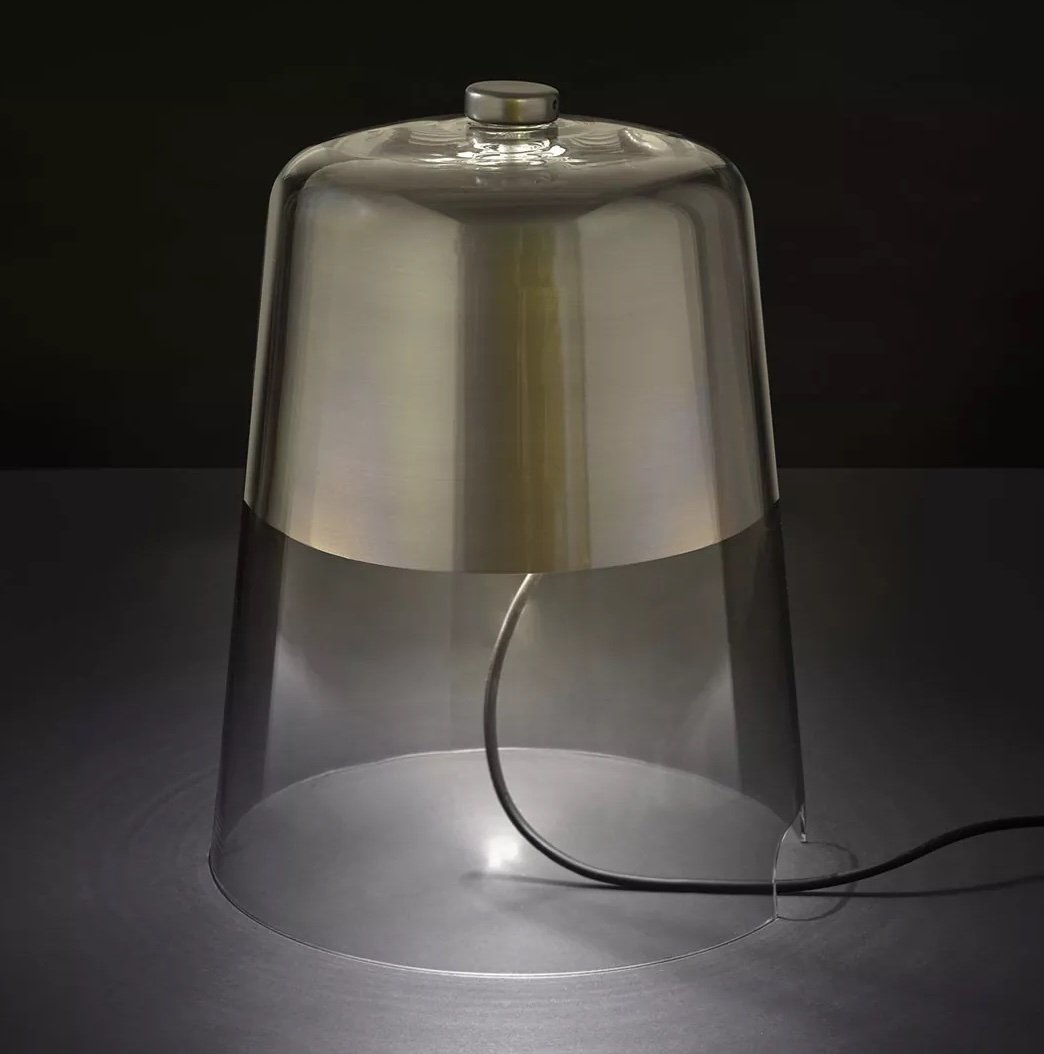 Semplice Table Lamp lighting from Oluce, designed by Sam Hecht