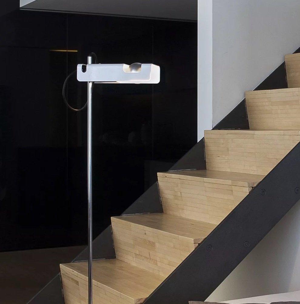 Spider Floor Lamp lighting from Oluce, designed by Joe Colombo