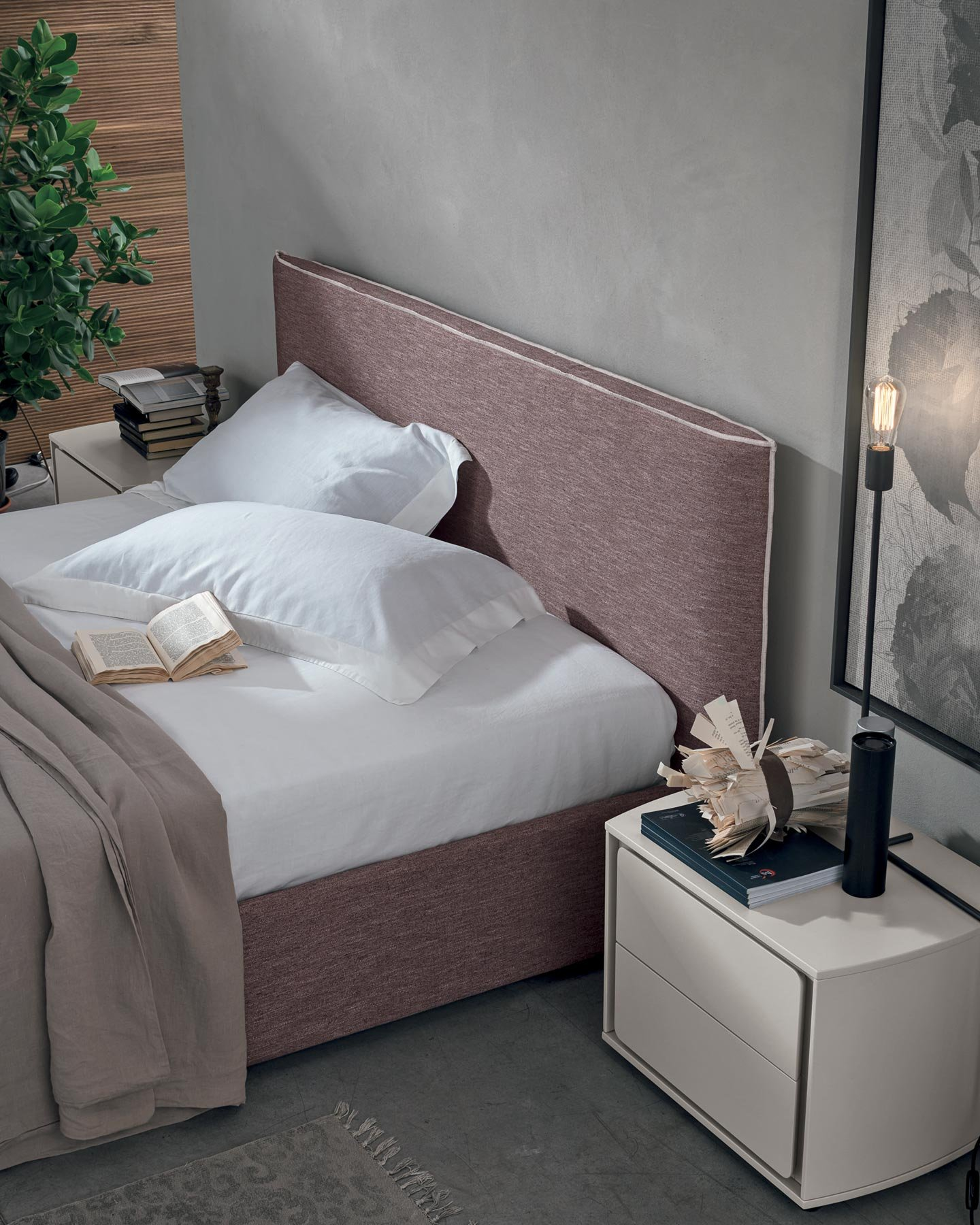 Letto Bed from Tomasella