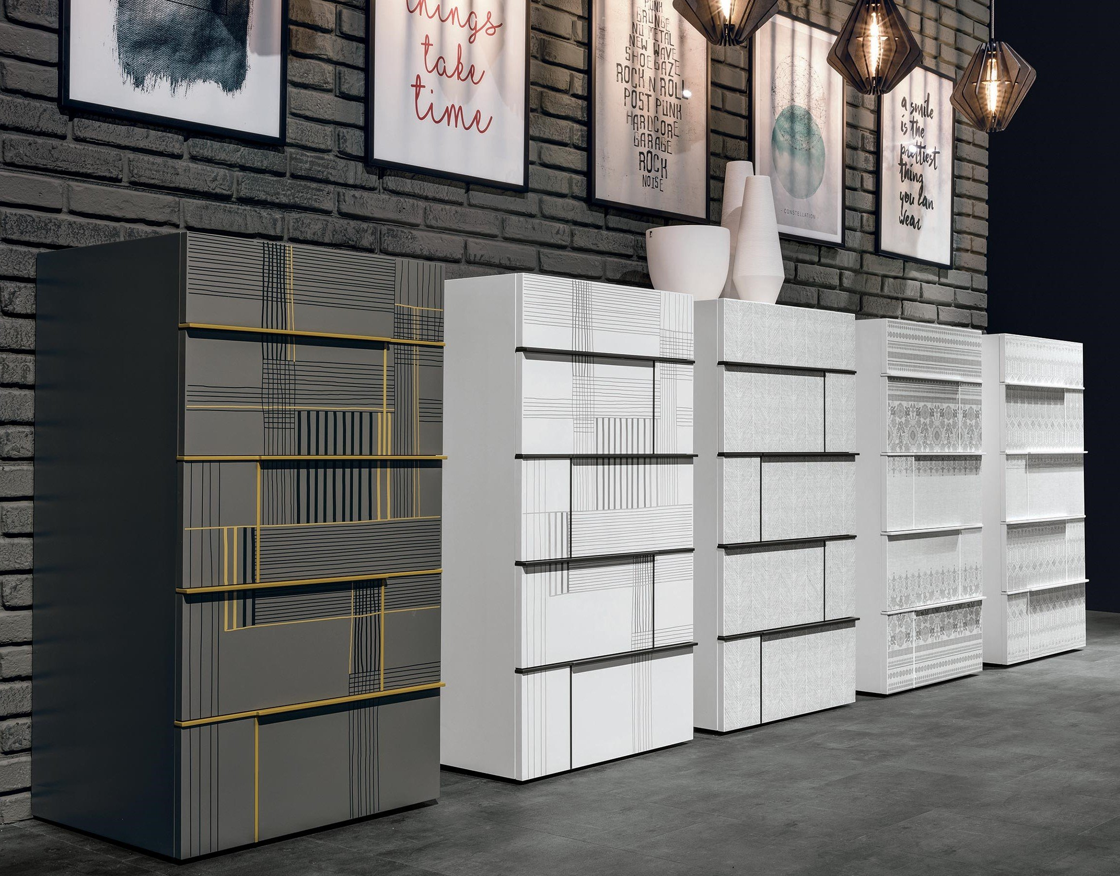 Hashtag Storage Unit chest from Tomasella
