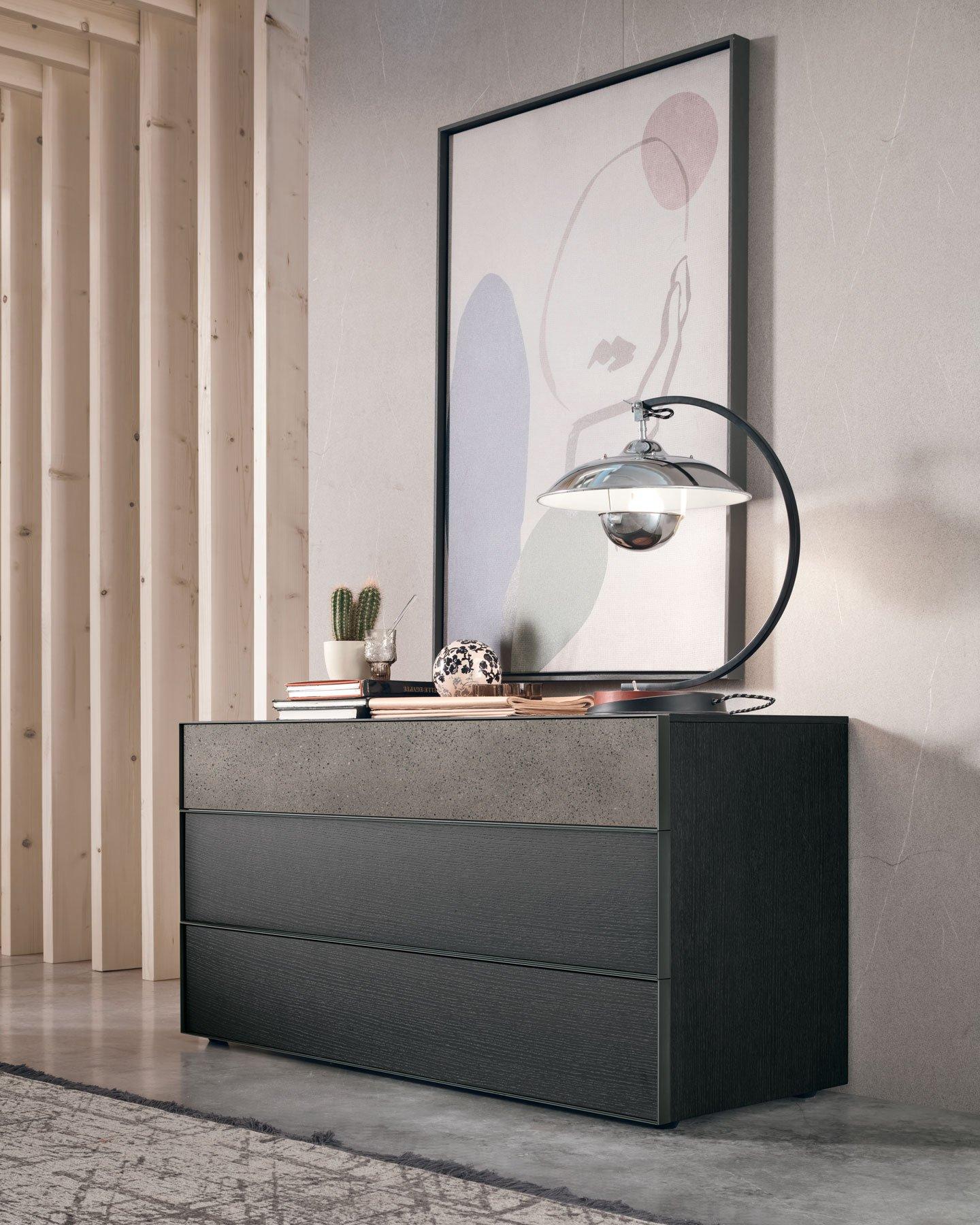 Vinci Storage Unit dresser from Tomasella