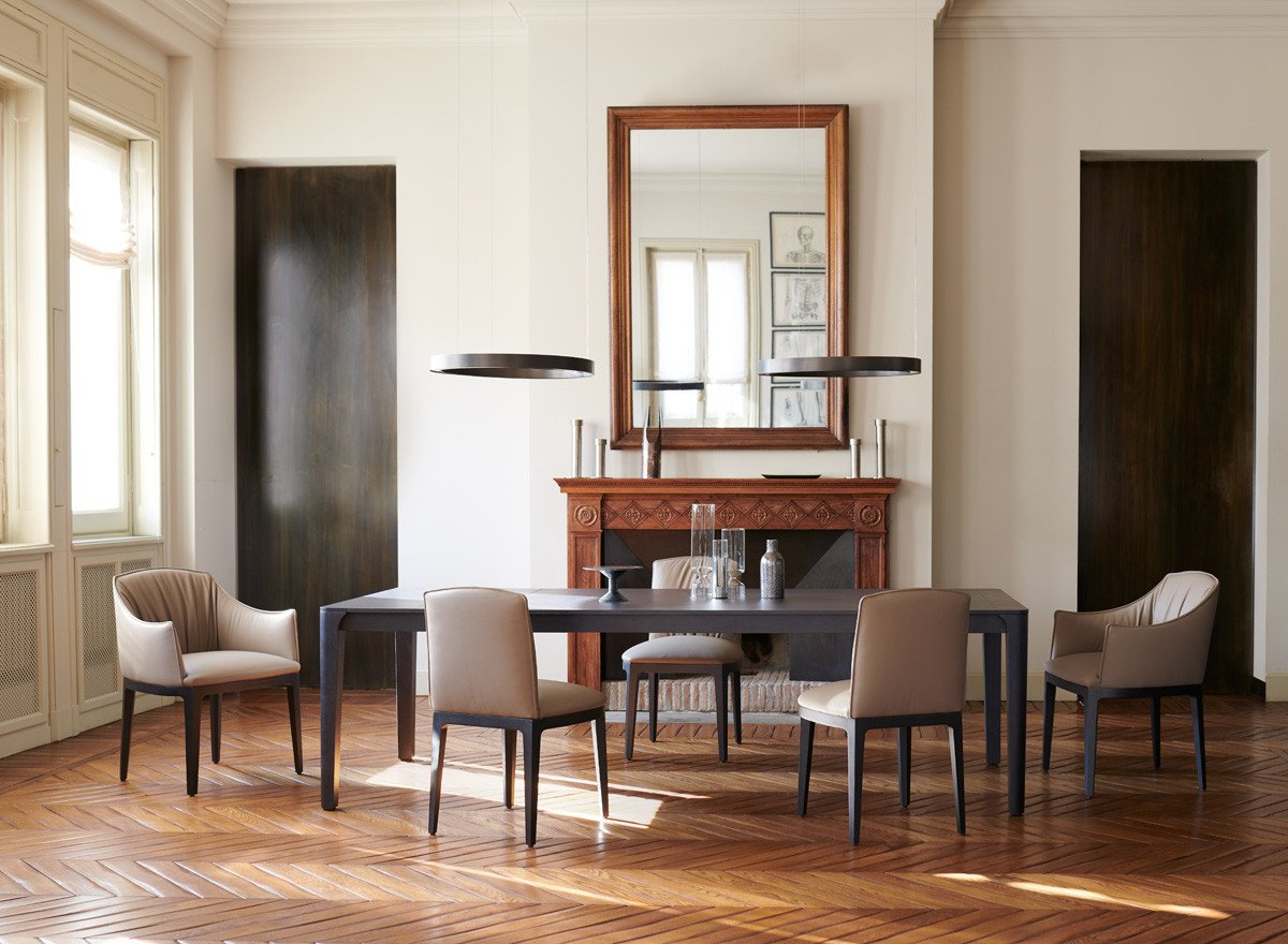 Blossom Chair from Potocco, designed by Bernhardt & Vella