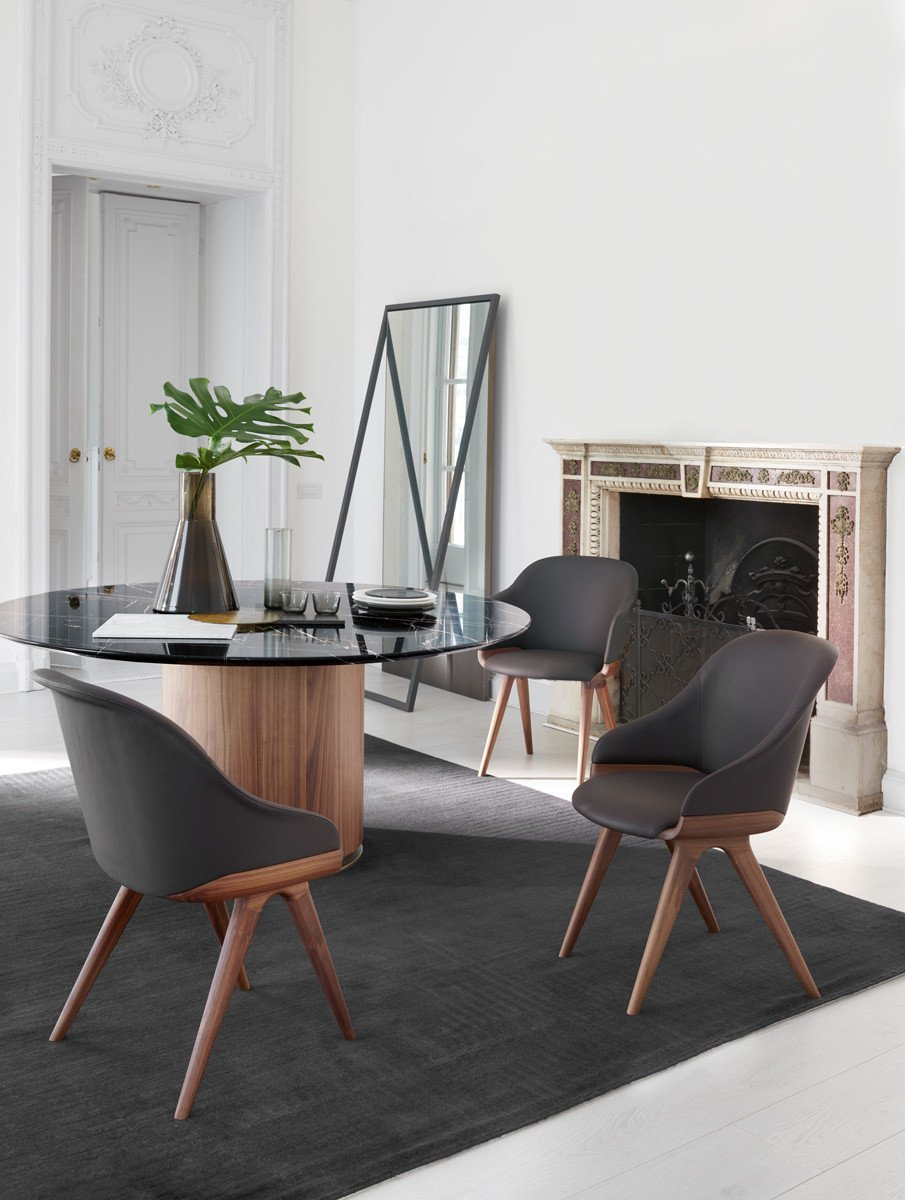 Lyz Chair from Potocco, designed by Mario Ferrarini