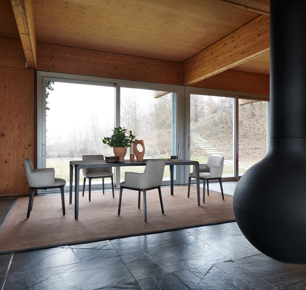 Candy Chair from Potocco, designed by Bernhardt & Vella