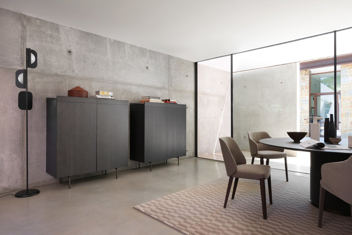 Concha Chair from Potocco, designed by Stephan Veit