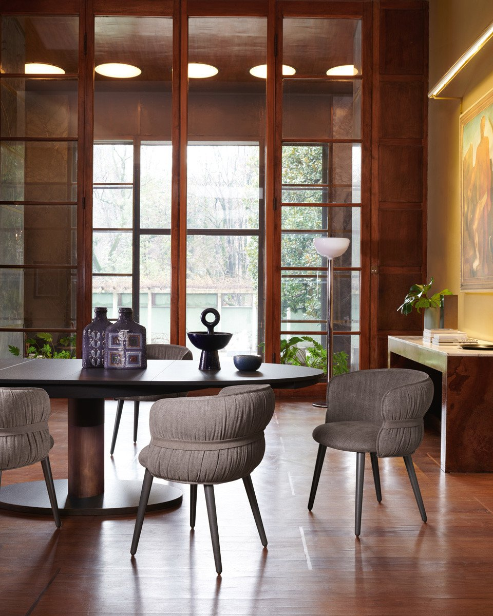 Diva Table dining from Potocco, designed by Alexander Lorenz