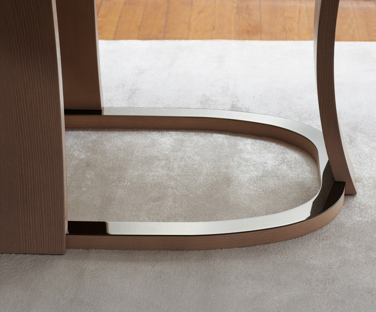 Grace Table dining from Potocco, designed by Mauro Lipparini
