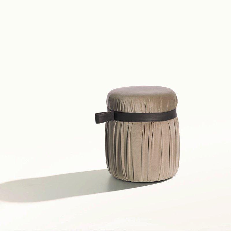Herm Pouf from Potocco, designed by Gianluigi Landoni