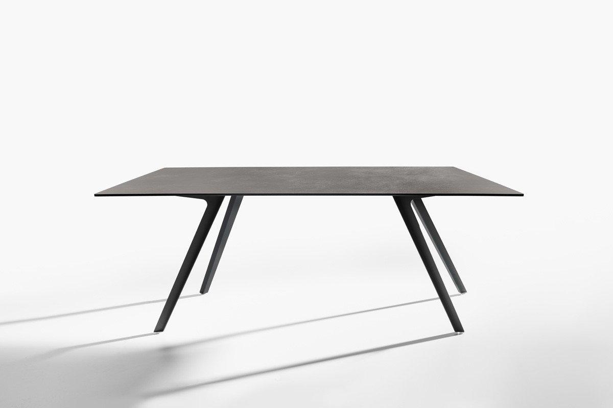 Katana Table dining from Potocco, designed by Mauro Lipparini