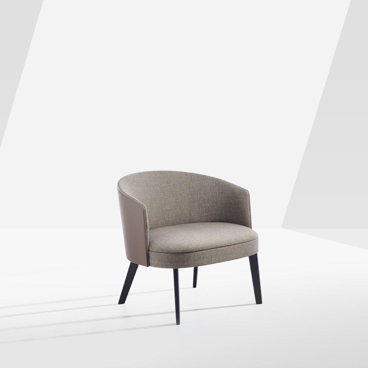 Lena Lounge Chair from Potocco, designed by Gabriele & Oscar Buratti