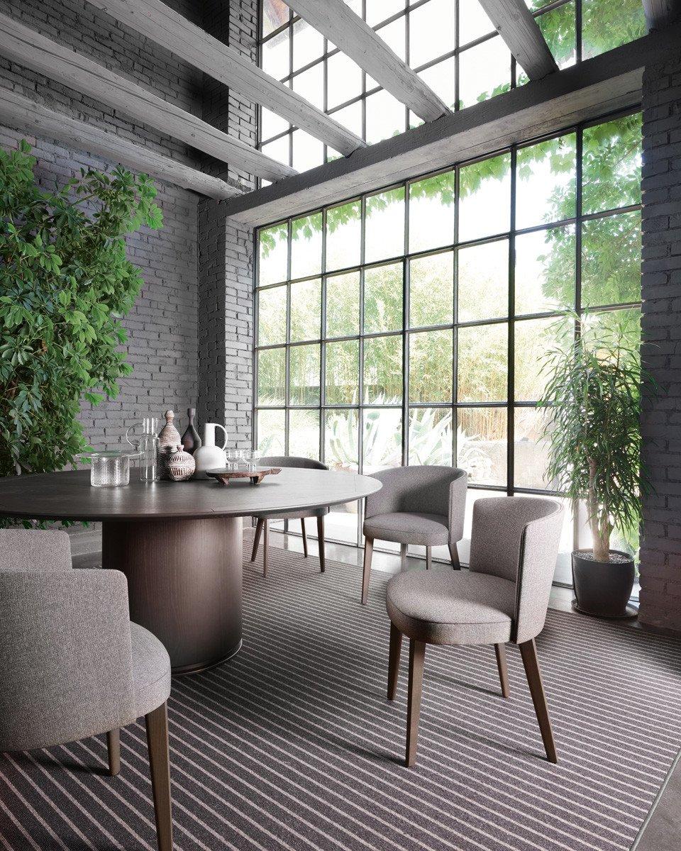 Otab Table dining from Potocco, designed by Gabriele & Oscar Buratti