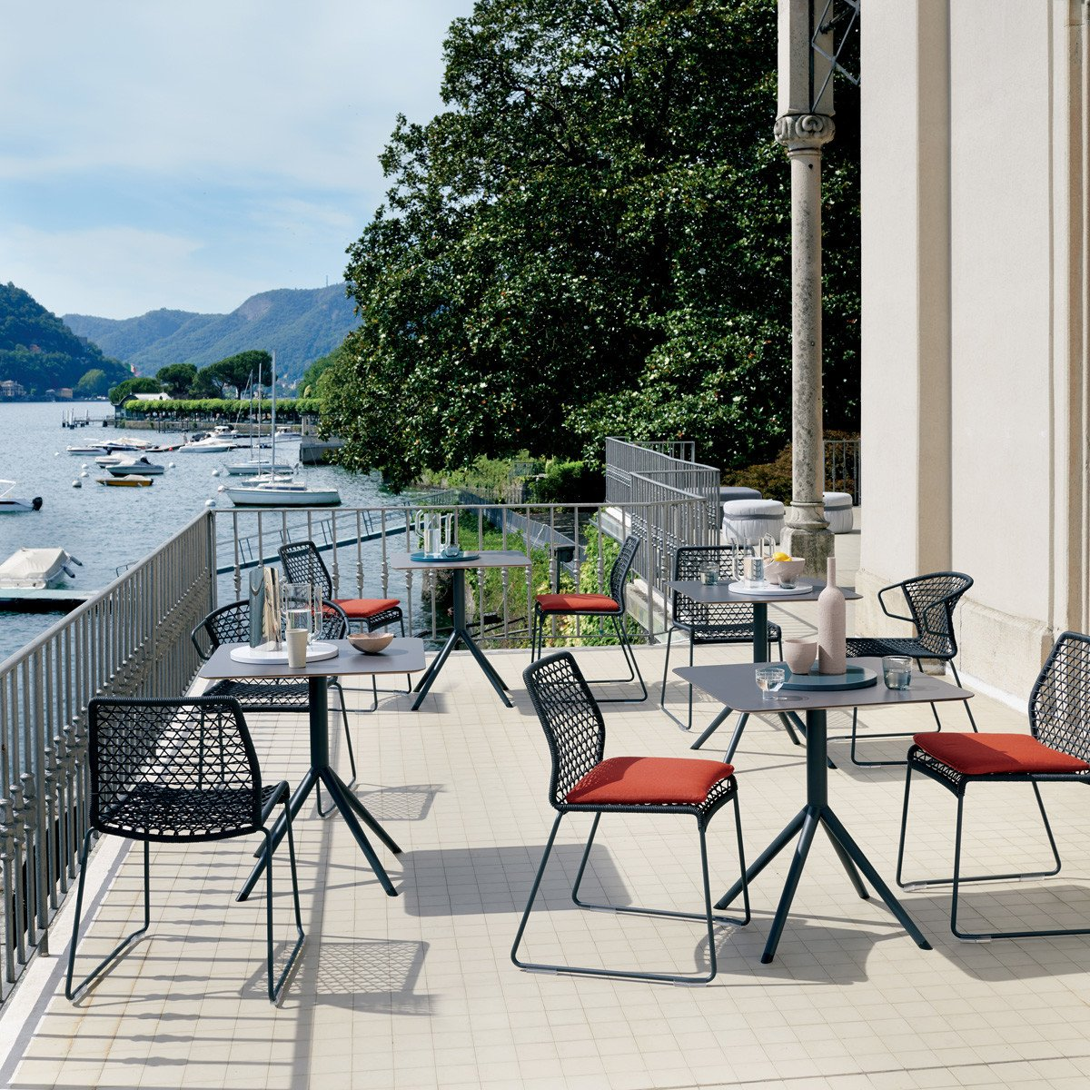 OTX Table bar from Potocco, designed by Gabriele & Oscar Buratti