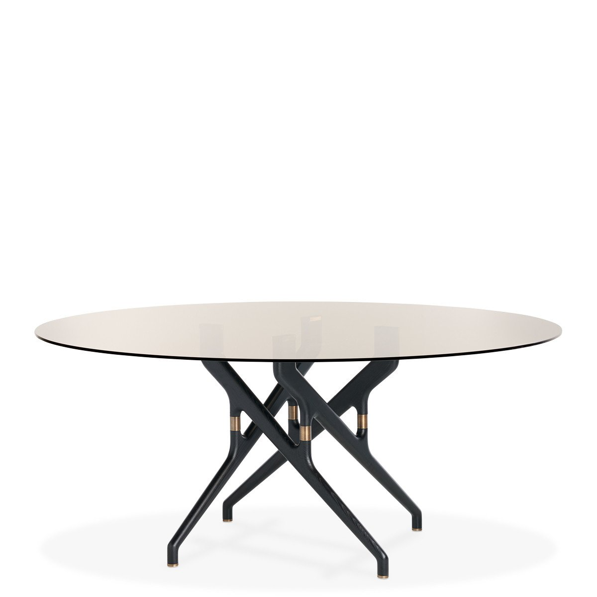 Torso Table dining from Potocco, designed by Gianluigi Landoni