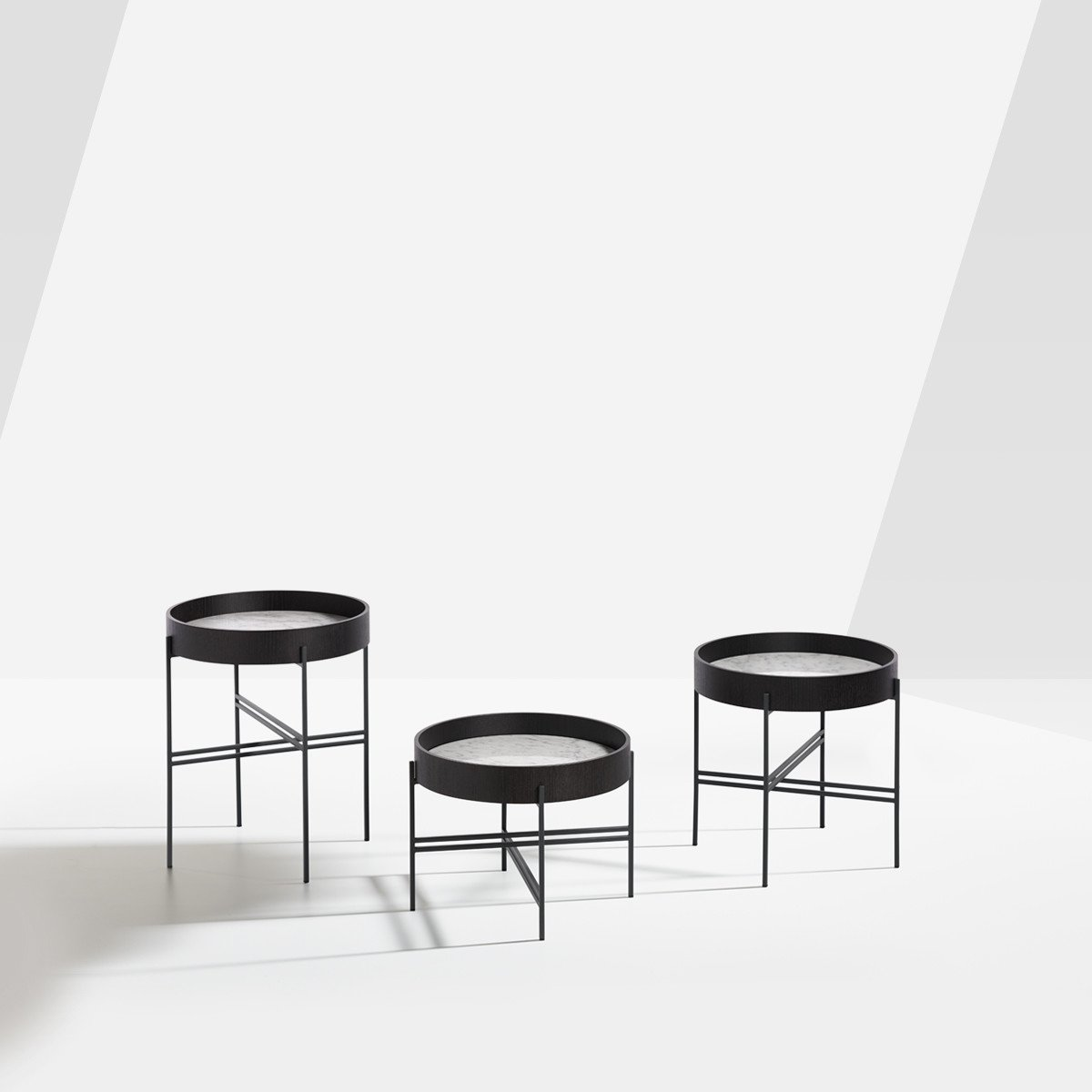Tray Coffee Table from Potocco, designed by Marco Viola Studio
