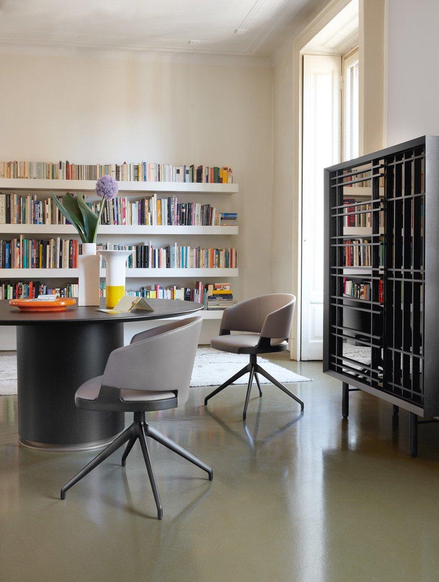 Velis Swivel Chair from Potocco, designed by Mario Ferrarini
