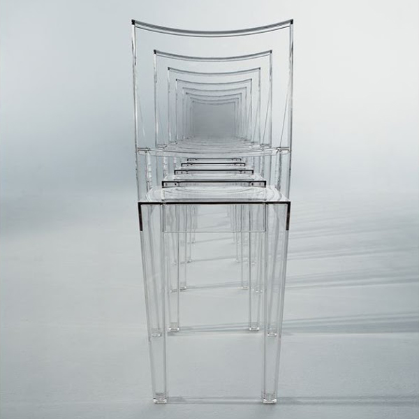 La Marie Chair from Kartell, designed by Philippe Starck
