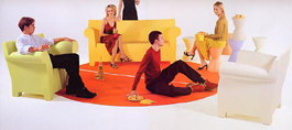 Kartell Lounge Chairs
