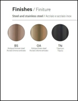 Pedrali Steel Finishes (Ester)