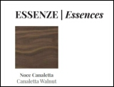 Porada Canaletta Walnut Finish