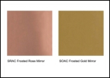 Sovet Frosted Mirror Glass (Rose or Gold)